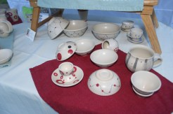 Espresso cups, bowls and other handmade items.