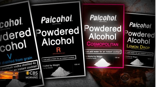 Powdered alcohol banned in NH.