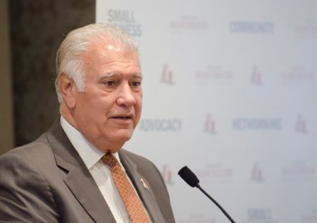 Mayor Gatsas pointed to his opponent's 'inability to lead' on issues she has handled in committee settings.