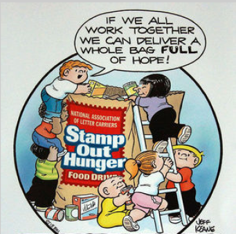 USPS Stamp Out Hunger.