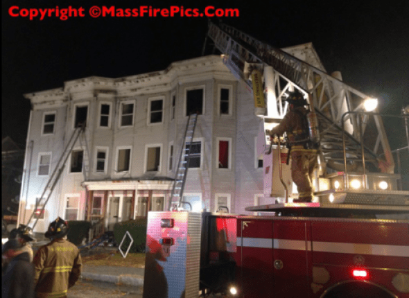 All hands on deck for three-alarm fire on Clifford Ave.