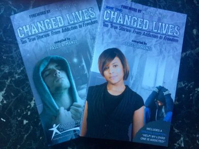 """Changes Lives,"" two books with the personal stories of Teen Challenge graduates, now available. Proceeds support the work of Teen Challenge New England."