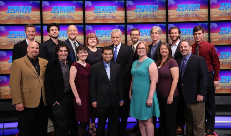 Jeopardy Tounament of Champions contestants 2015.