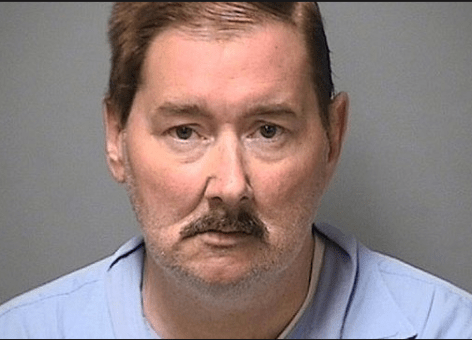 Leeland Eisenberg, following arrest by Manchester Police in April of 2013.