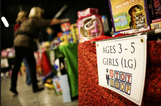 Annual Salvation Army Toy Shop will be held this year on Dec. 21 at the Radisson Hotel.