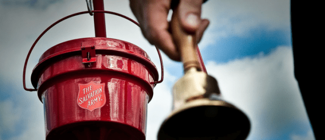 Every little bit helps during the Red Kettle campaign.