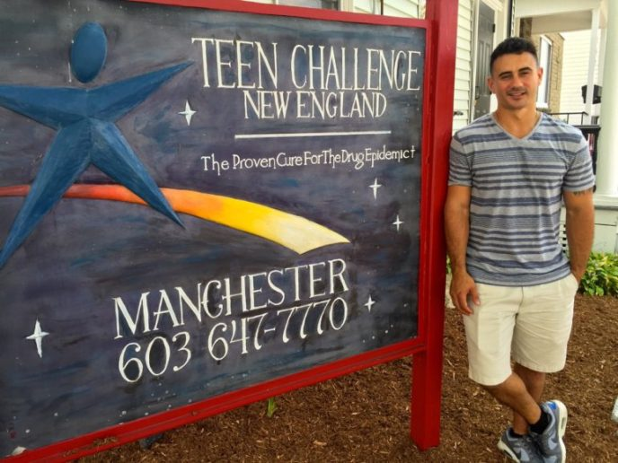 Zach Brewster, a Teen Challenge success story.