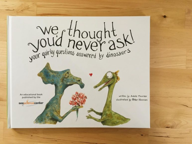 If you kid loves dinosaurs, this is the book.