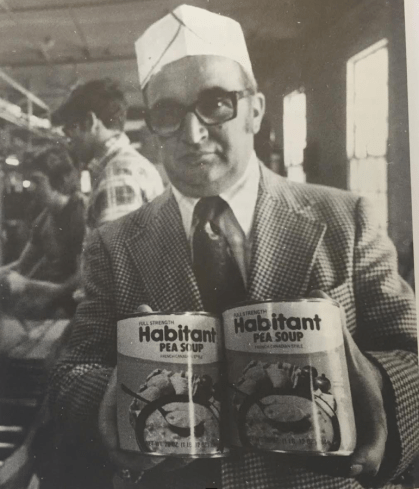 The top man in the Habitant plant, Gilles Morin, was justifiably proud of his product back in 1978.