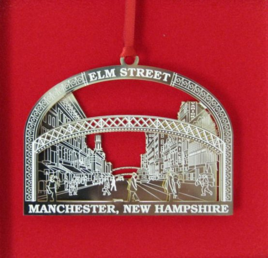 MHA's 2016 collectible ornament.