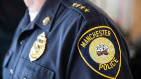 Manchester Police Shoulder Patch