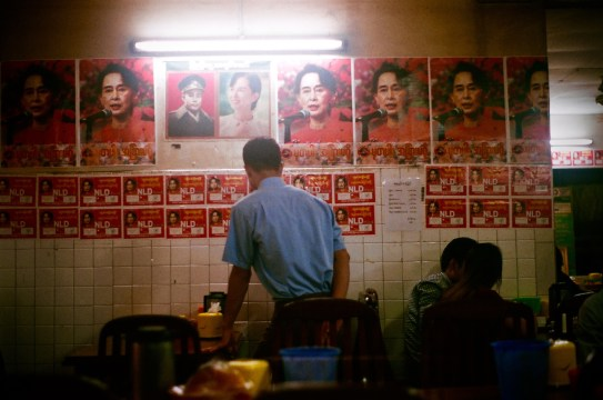 Political Cafe Yangoon