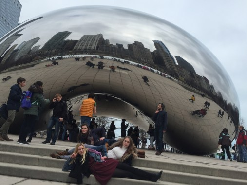 Oh look, another artsy shot of me at the bean