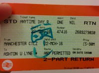 My life as an academic researcher has been a roller coaster ride. On the way back from university the train conductor came by to check our tickets. He drew a smiley face on my ticket. A small gesture that made my day.