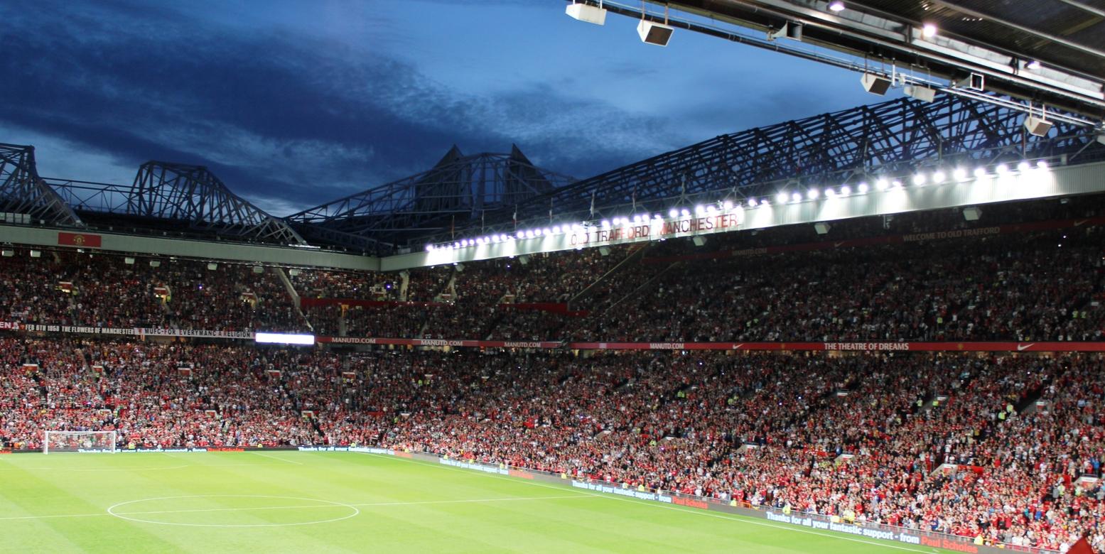 Manchester United Old Trafford Stadium Wallpapers Hd Old Trafford Manchester United F C