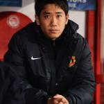 Shinji+Kagawa+Olympiacos+FC+v+Manchester+Unitedl