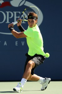 Rovescio a due mani di Rafael Nadal