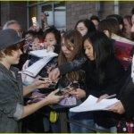 Justin Bieber è mancino