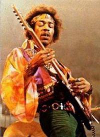 Jimi Hendrix era mancino
