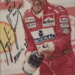 Ayrton Senna era mancino