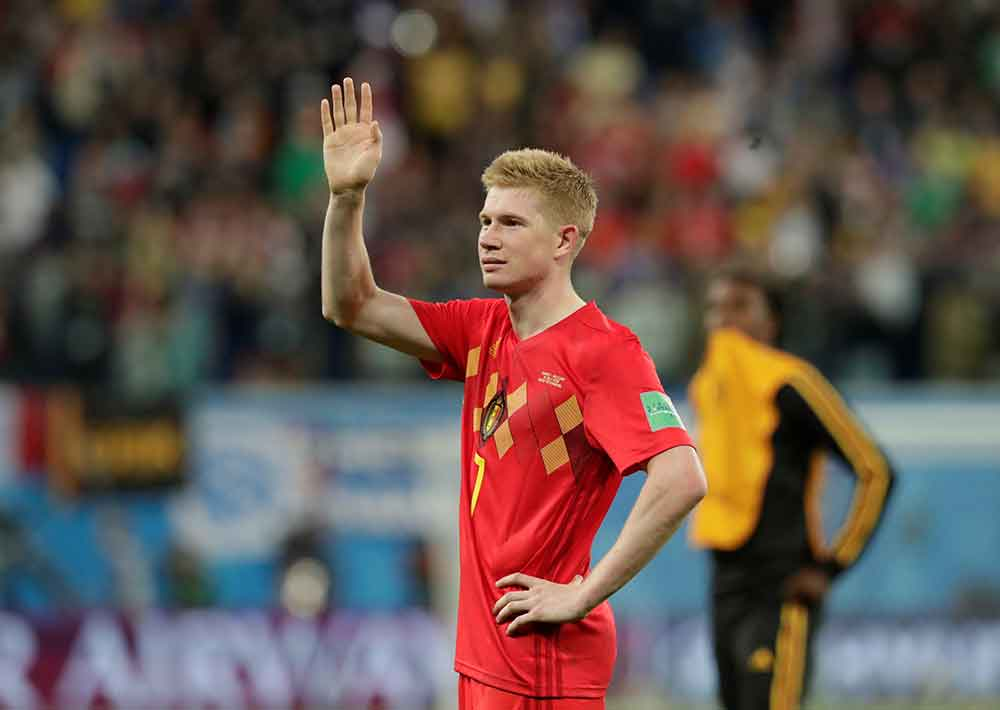 De Bruyne showing why he is one of the best midfielders in the world