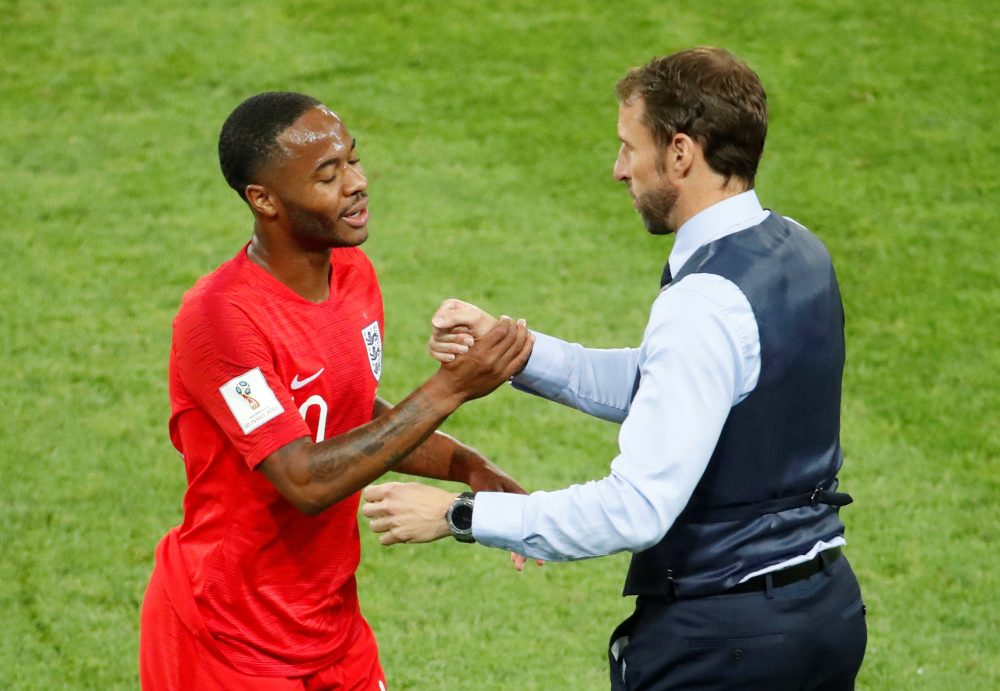 Play ratings: City trio help England to historic win in Moscow