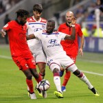 Tanguy Ndombele and Lucas Tousart,