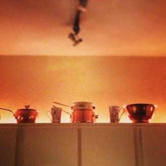 New kitchen uploading via leftover Christmas lights