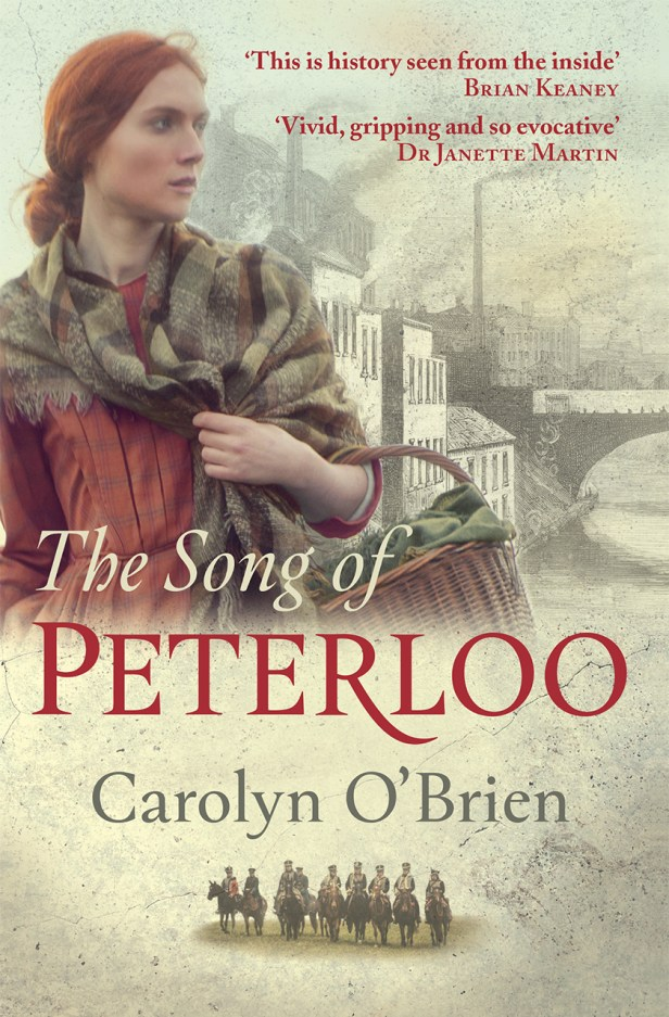 Image of book cover The Song of Peterloo