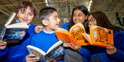 World Book Day for Manchester schools at the National Cycle Centre