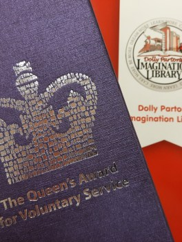 The Queen's Award for voluntary service.