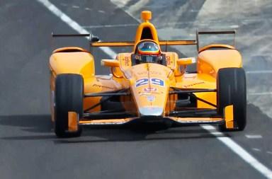Alonso Indycar