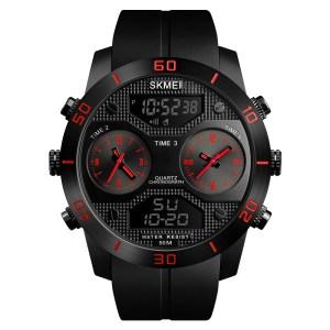 SKMEI 1355 Fekete-Vörös