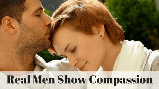 Real Men Show Compassion image