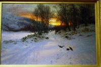 Joseph Farquharson - When the West with Evening Glows, 1901