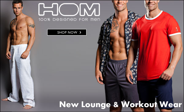 HOM Lounge and Workout wear at Dead Good Undies