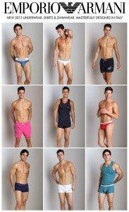 Emporio Armani 2013 now in at International Jock