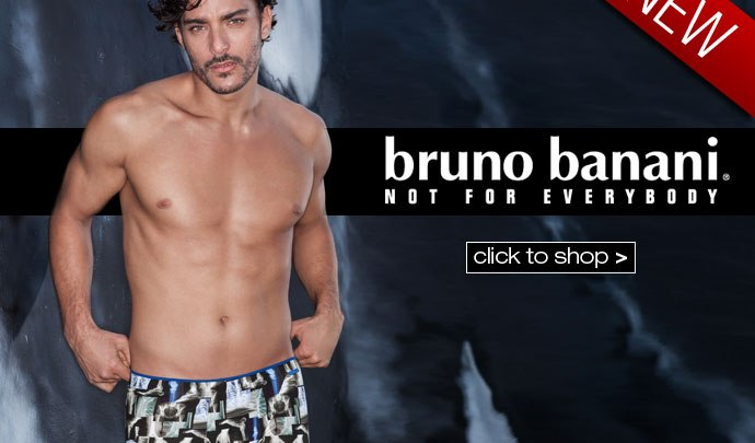 New Season Bruno Banani at Dead Good Undies