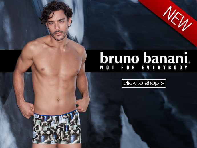 New Season Bruno Banani at Dead Good Undies