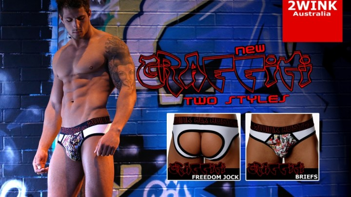 The Graffiti is on your Briefs – with 2Wink