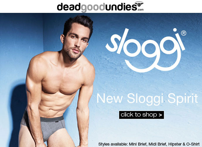 Get the Sloggi Spirit – at Dead Good Undies