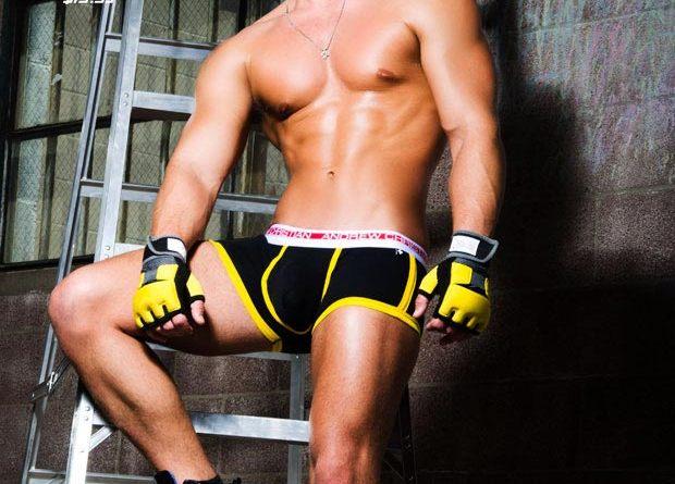 andrew christian vivid fuse black boxer
