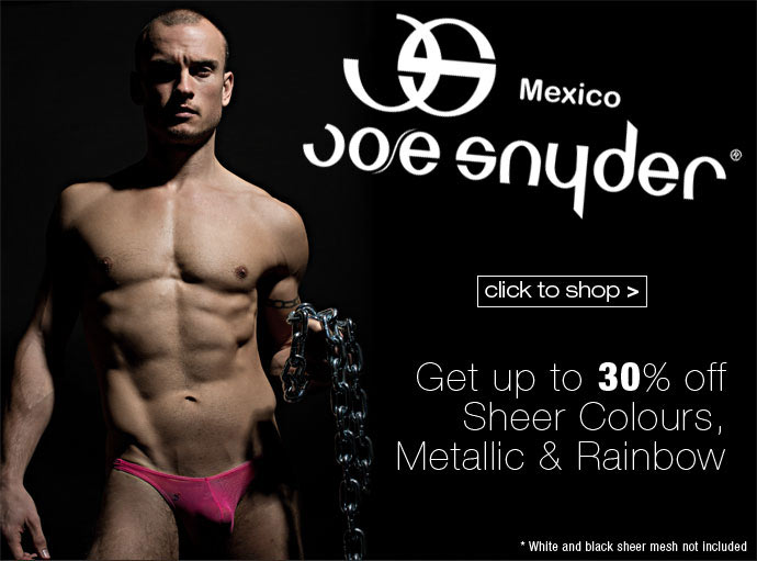 Save on Joe Snyder at Dead Good Undies