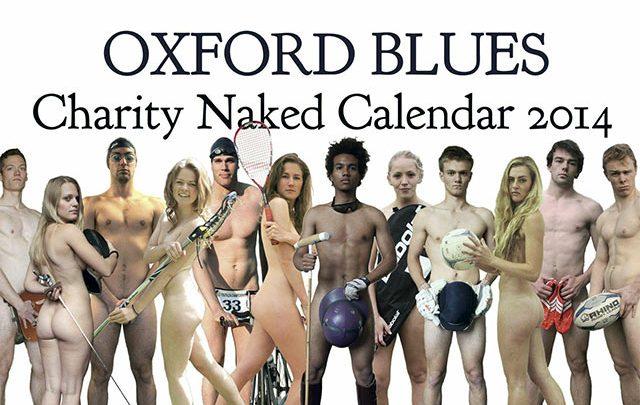 Oxford Blues Naked Charity Calendar 2014