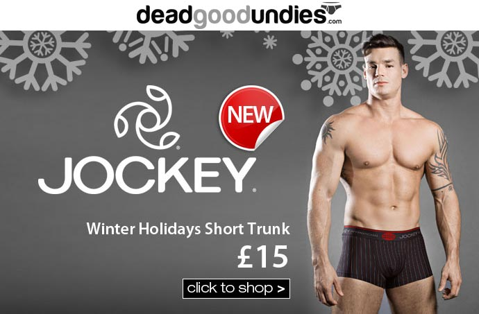 Christmas 2014 range from Jockey now at Dead Good Undies