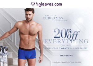 figleaves christmas2013 20 off