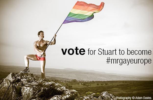 Vote Stuart for Mr Gay Europe