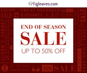 figleaves end of year sale