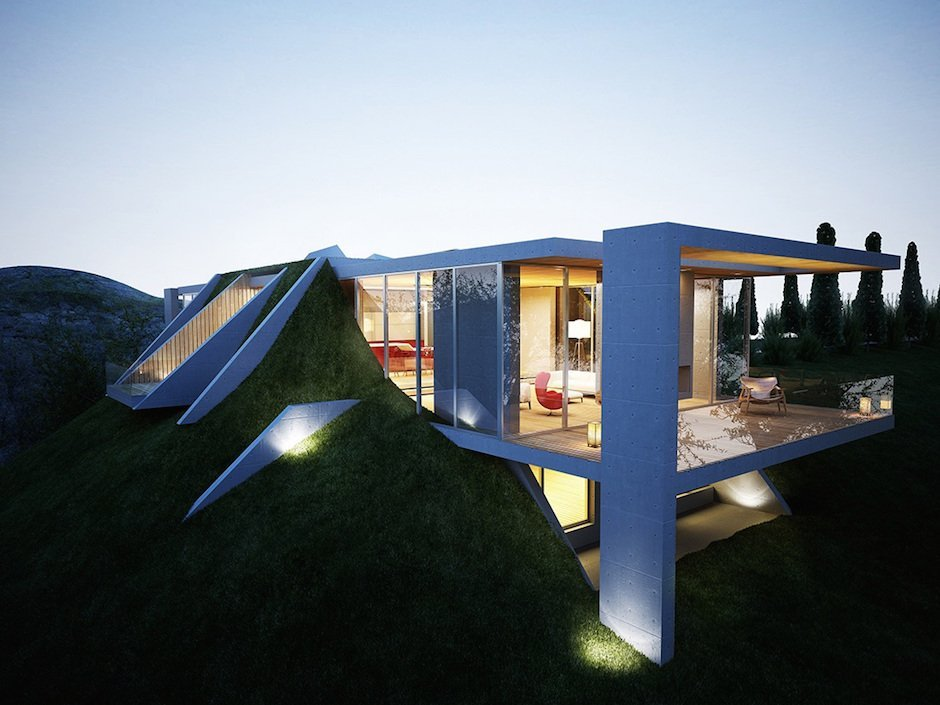 When worlds collide: Earth House Project