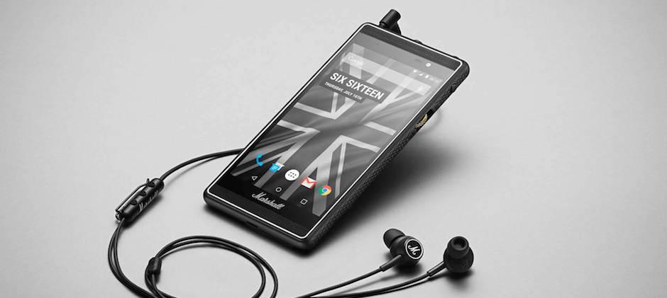 Marshall geht unter die Android-Phone-Hersteller: Rock and Roll auf dem Handy!